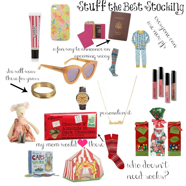 stuffing the best stocking stocking stuffers 2012 chic