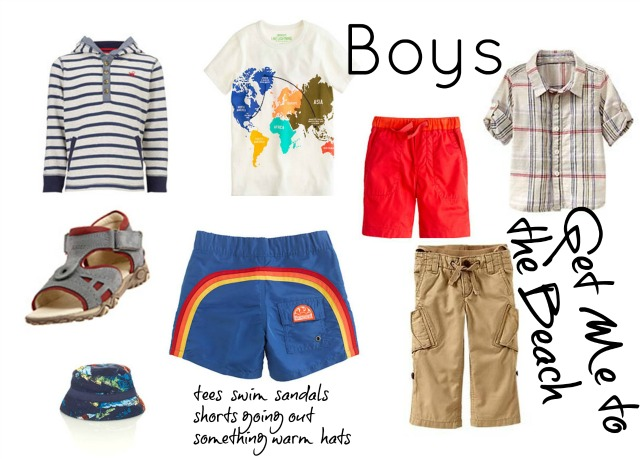packing for the beach kids clothing chic everywhere