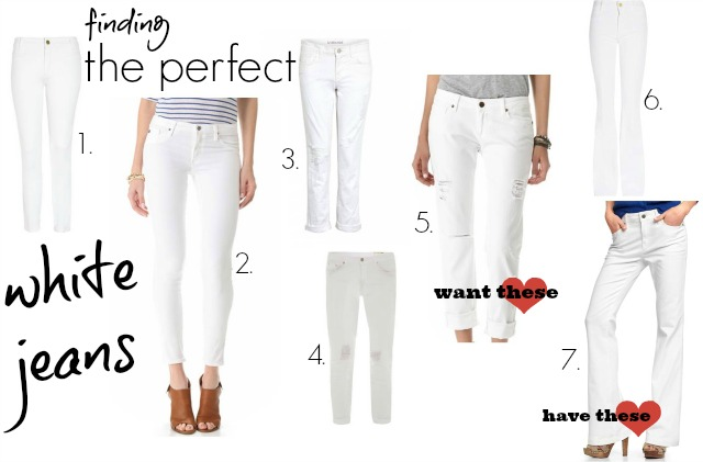 Finding the Perfect White Jeans ⋆ chic everywherechic everywhere