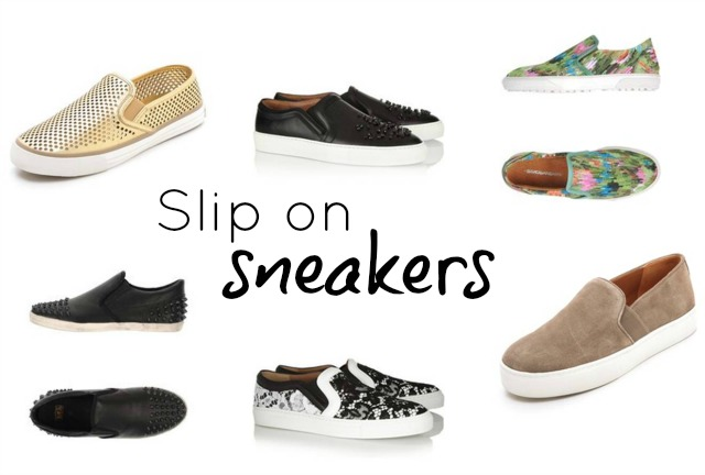 The New It Sneaker Slip On Sneakers ⋆ Chic Everywhere