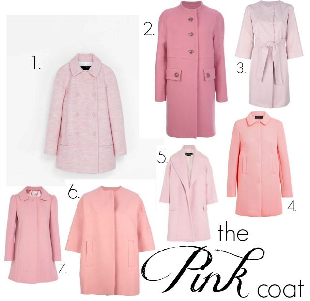 Think Pink; the Pink Coat Trend ⋆ chic everywhere