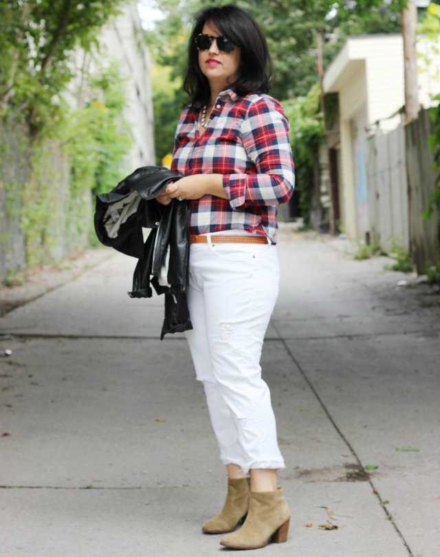 White Jeans Style Styling White Jeans For Fall