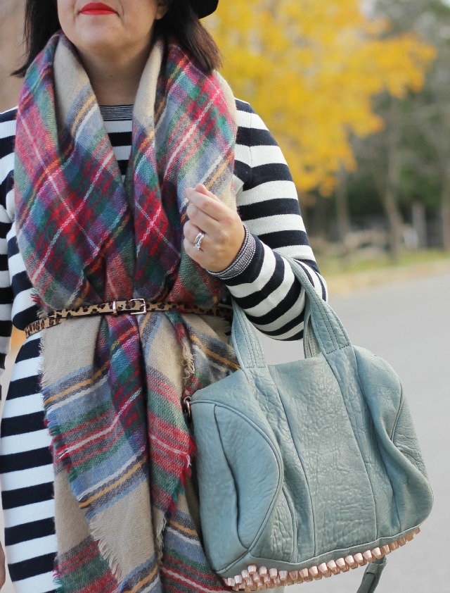 Sweater Dress With Belted Scarf ⋆ Chic Everywhere