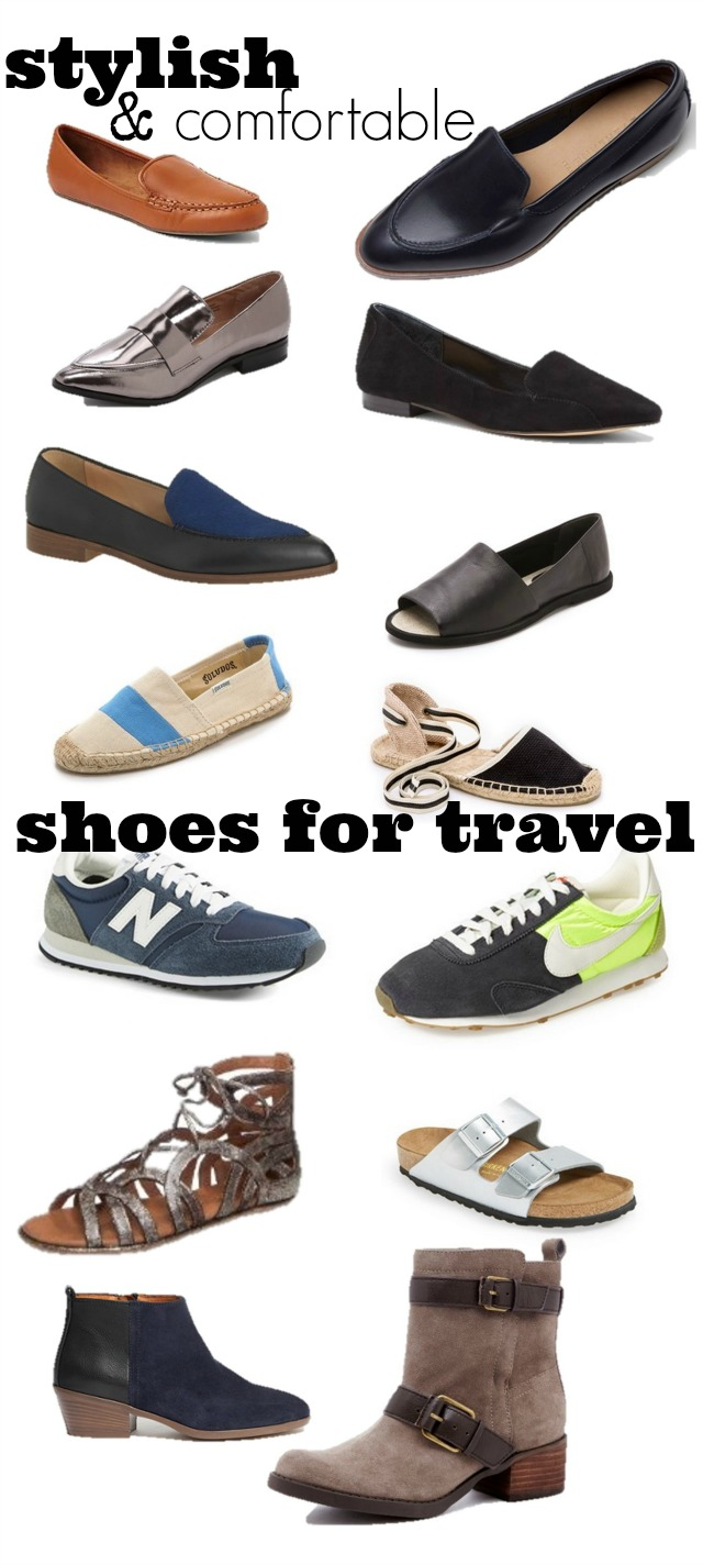 Stylish & Comfortable Shoes for Travel ⋆ chic everywhere
