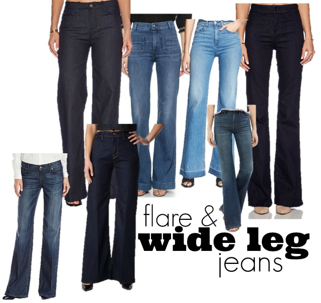 What to wear with Wide Leg Jeans ⋆ chic everywhere