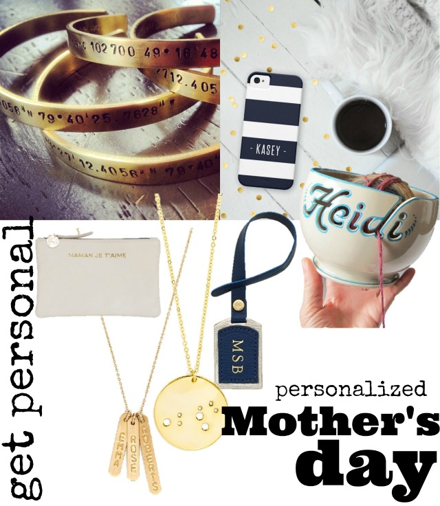 Personalized Mother 39 S Day Gifts Chic Everywhere