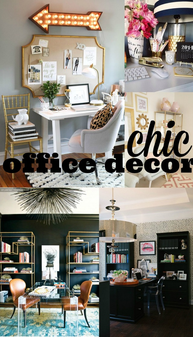 Chic office decor chic everywhere for Trendy office design