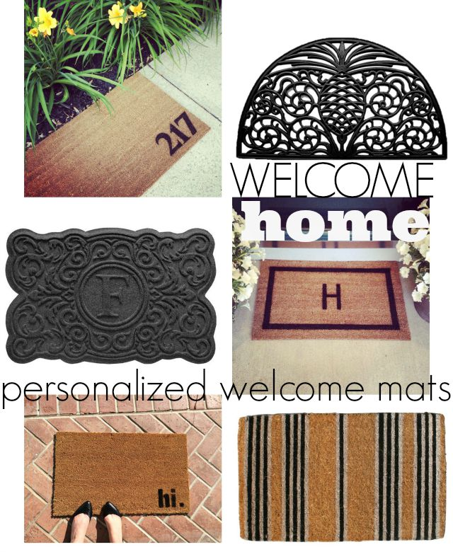 warm welcome cool welcome mats chic everywhere