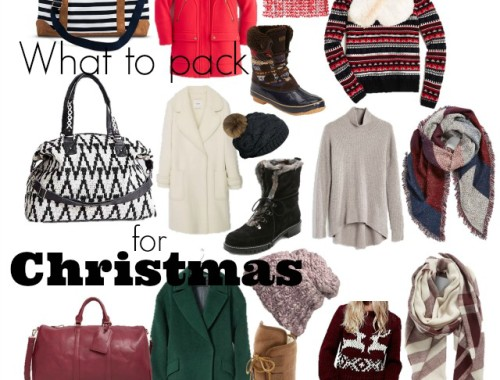 What to pack for Christmas Travel