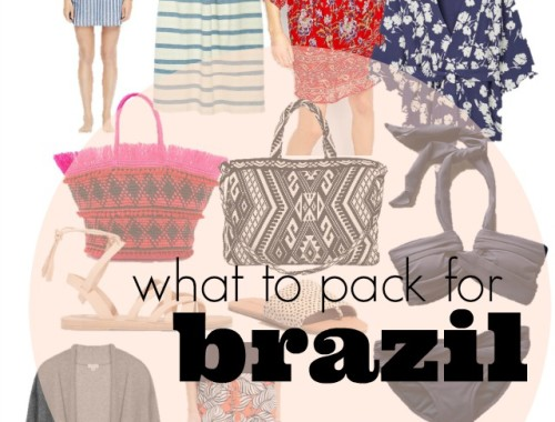 what to pack for brazil
