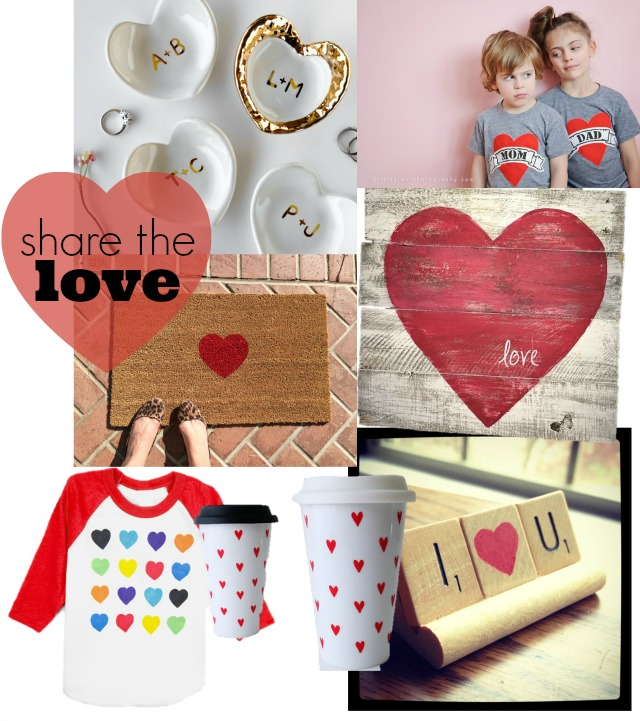 share the love, valentines day gifts