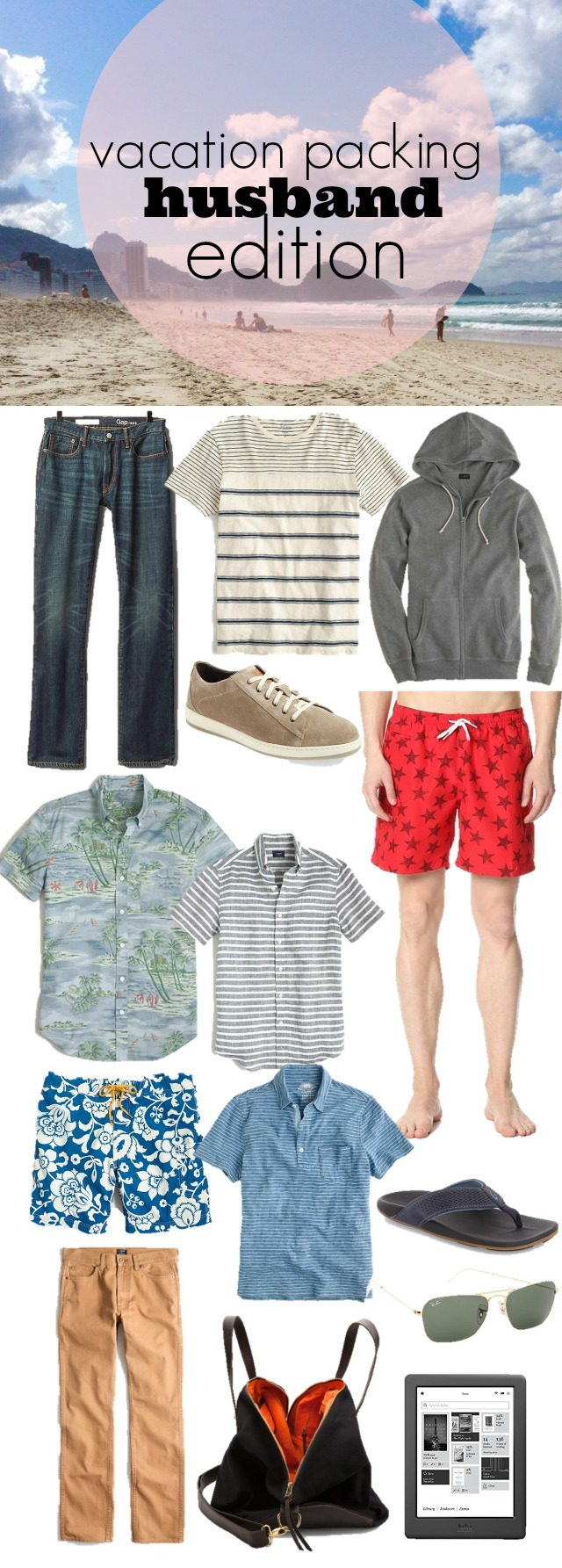 travel packing for guys