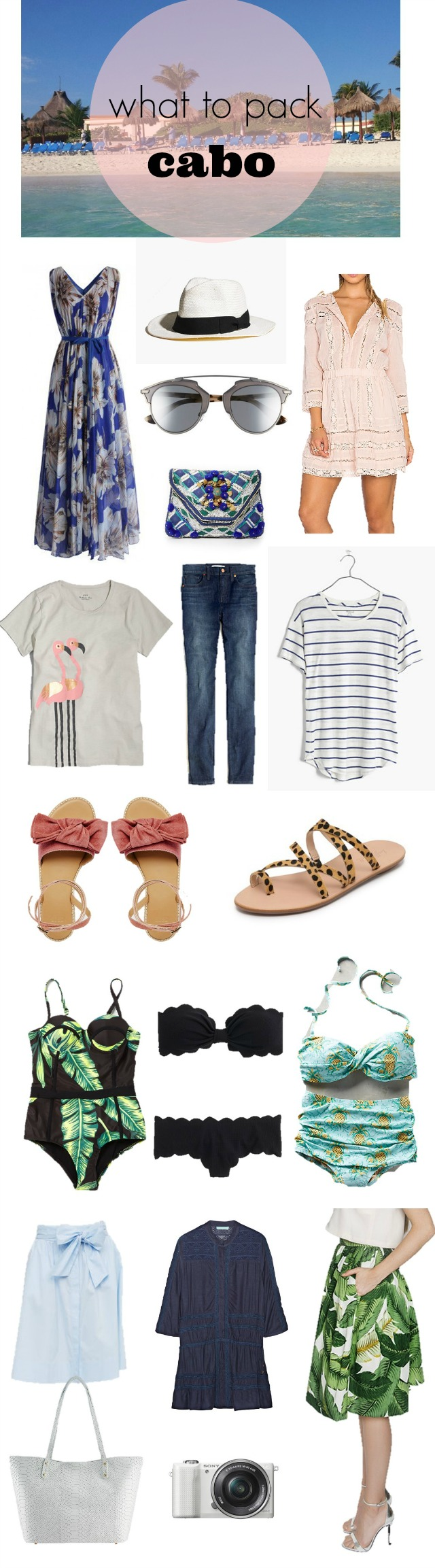 what to pack for los cabos