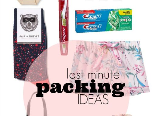 last minute packing tips